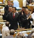 Reconoce la ONU a Zelaya como presidente de Honduras