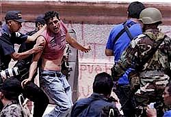 Constata misión  de la OEA represión en Honduras