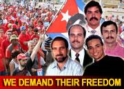 Demandarán en Londres justicia para antiterroristas cubanos