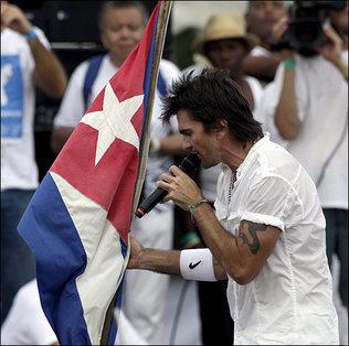 """Cuba: Multudinario """"concertazzo"""" por la Paz"""